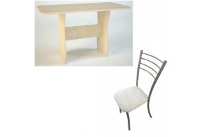 Обеденная группа: Обеденный стол СО-2+ стул №2 2 шт