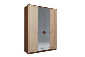 Азалия МДФ, №24 Шкаф 4-х створчатый с зеркалом