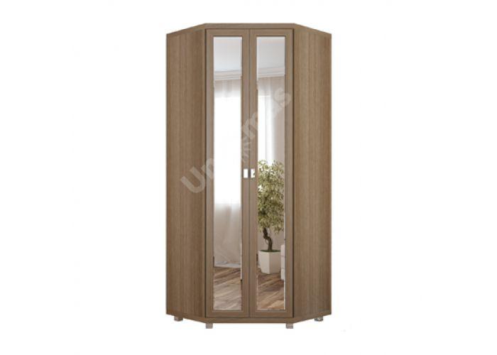 Жасмин, №23 с зеркалом - Шкаф угловой , Спальни, Угловые шкафы, Стоимость 24017 рублей.