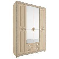 Калипсо Туя, №24 - Шкаф 4-х створчатый 1600