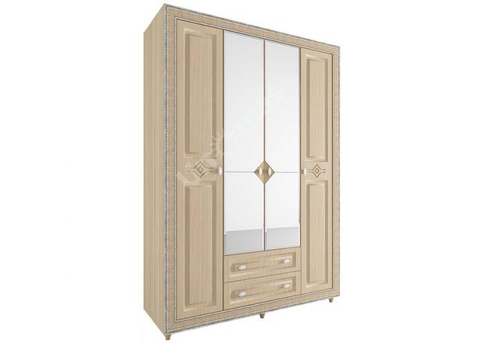 Калипсо Туя, №24 - Шкаф 4-х створчатый 1600, Спальни, Шкафы, Стоимость 34559 рублей.