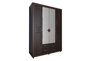 Калипсо Венге, №24 - Шкаф 4-х створчатый 1600