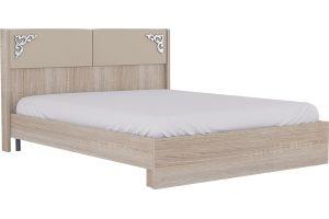 Сан-Ремо №16М- Кровать 1600 без МЭ +  № 16М Мягкий элемент