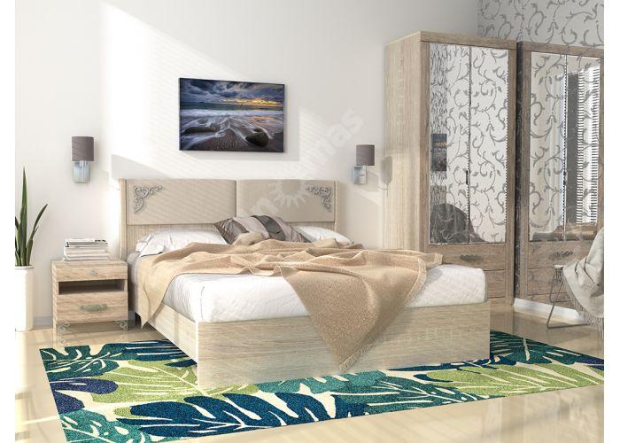 Сан-Ремо №16М- Кровать 1600 без МЭ +  № 16М Мягкий элемент, Спальни, Кровати, Стоимость 10049 рублей., фото 2
