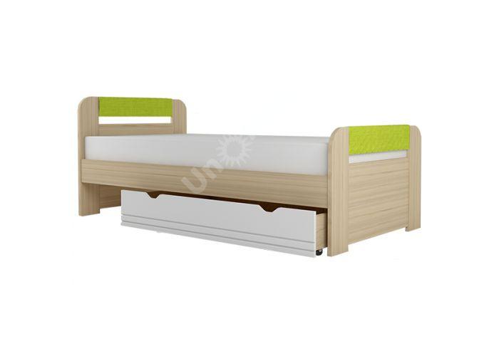 Стиль,  №1200.3 Кровать 1200, Детская мебель, Детские кровати, Стоимость 9314 рублей.