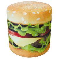Пуф  принт  (Гамбургер)