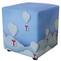 Пуф принт  (Воздушные шары)