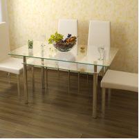 Стол обеденный Рио - 3 №2-1 (10 мм)