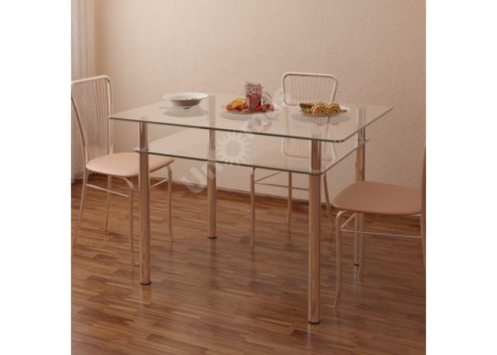 Стол обеденный Рио - 4 №2-1 (10 мм), Кухни, Обеденные столы, Стоимость 9779 рублей.