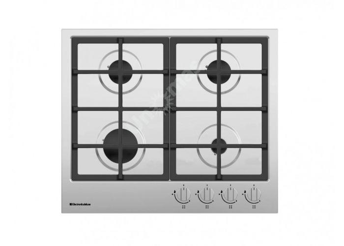Electronicsdeluxe вар.газ.панель tg4 750231 f-021 нерж, Кухни, Встроенная техника, Варочные поверхности, Стоимость 13640 рублей.