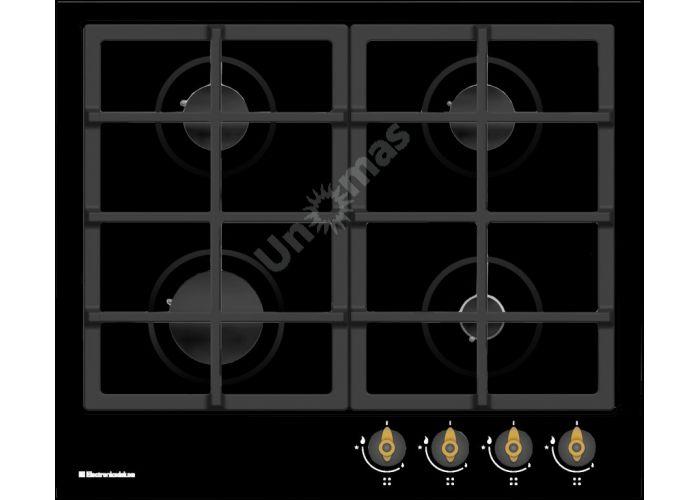 Electronicsdeluxe вар.газ.панель tg4 750231 f-025 черн. эмаль/бр, Кухни, Встроенная техника, Варочные поверхности, Стоимость 14050 рублей.