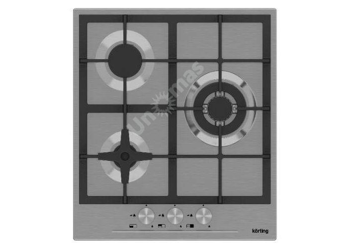 Korting газовая варочная HG 465 CTX, Кухни, Встроенная техника, Варочные поверхности, Стоимость 15790 рублей.