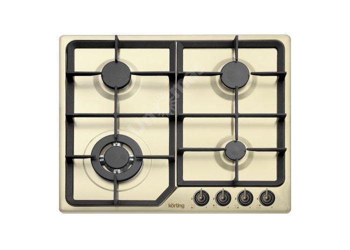 Korting газовая варочная HG 630 CTSB, Кухни, Встроенная техника, Варочные поверхности, Стоимость 20990 рублей.