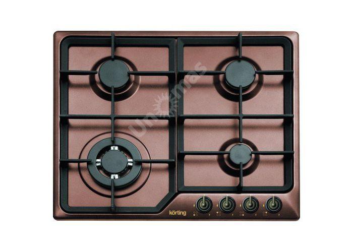 Korting газовая варочная HG 630 CTSC, Кухни, Встроенная техника, Варочные поверхности, Стоимость 20990 рублей.