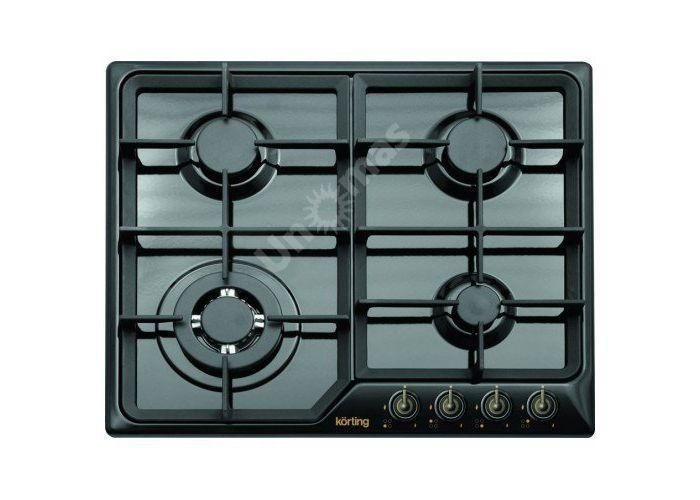 Korting газовая варочная HG 630 CTSN, Кухни, Встроенная техника, Варочные поверхности, Стоимость 20990 рублей.