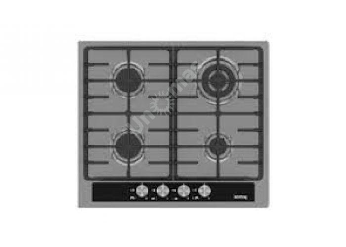 Korting газовая варочная HG 665 CTGX, Кухни, Встроенная техника, Варочные поверхности, Стоимость 18490 рублей.