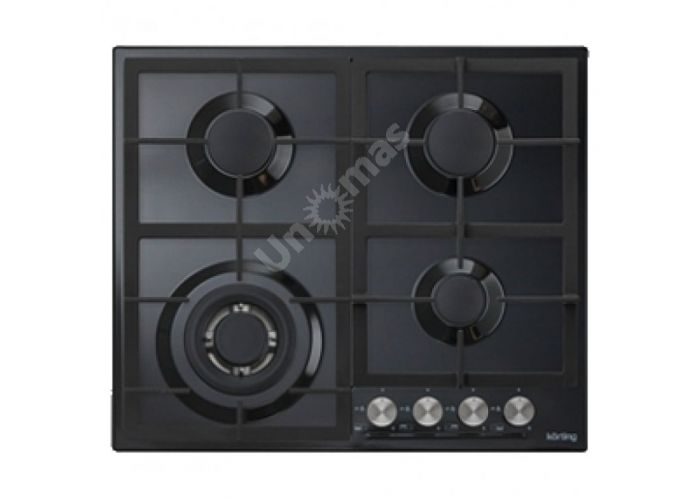 Korting газовая варочная HG 665 CTN, Кухни, Встроенная техника, Варочные поверхности, Стоимость 17290 рублей.