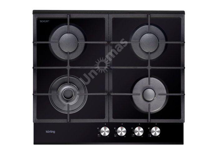 Korting газовая варочная HGG 685 CTN, Кухни, Встроенная техника, Варочные поверхности, Стоимость 22990 рублей.