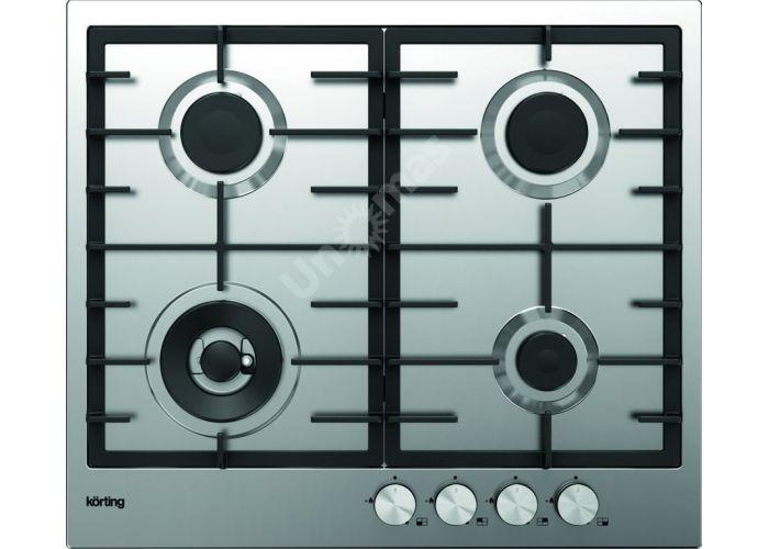 Korting газовая варочная HG 630 CTX PRO, Кухни, Встроенная техника, Варочные поверхности, Стоимость 22490 рублей.
