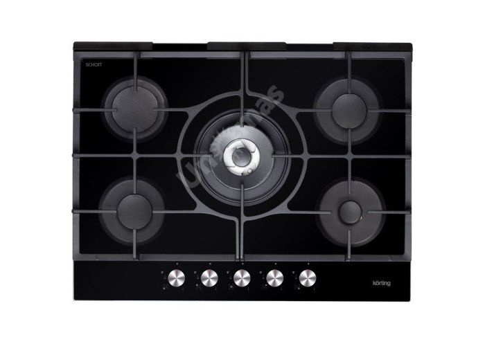 Korting газовая варочная HGG 785 CTN, Кухни, Встроенная техника, Варочные поверхности, Стоимость 29990 рублей.