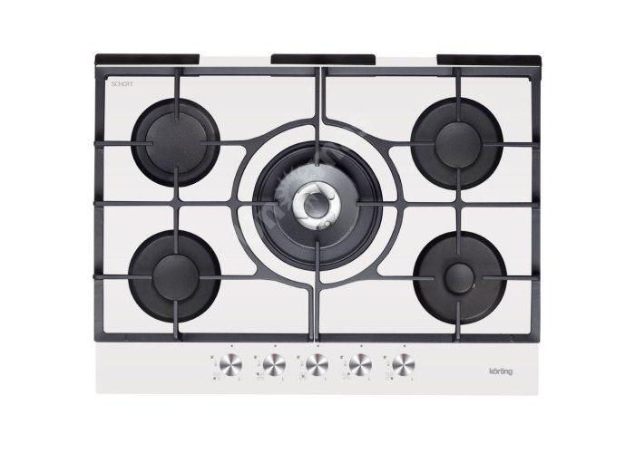 Korting газовая варочная HGG 785 CTW, Кухни, Встроенная техника, Варочные поверхности, Стоимость 30990 рублей.