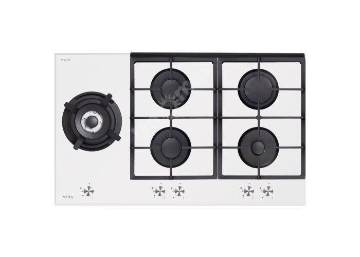 Korting газовая варочная HGG 985 CTW, Кухни, Встроенная техника, Варочные поверхности, Стоимость 30490 рублей.