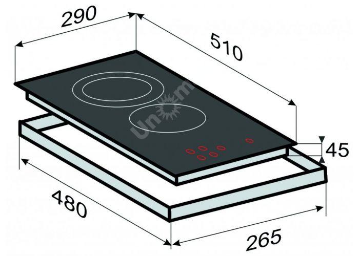 Zigmund & Shtain CIS 030.30 BX индукционная варочная поверхность, Кухни, Встроенная техника, Варочные поверхности, Стоимость 24690 рублей., фото 2