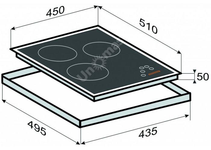 Zigmund & Shtain CIS 169.45 BХ индукционная варочная поверхность, Кухни, Встроенная техника, Варочные поверхности, Стоимость 35100 рублей., фото 2