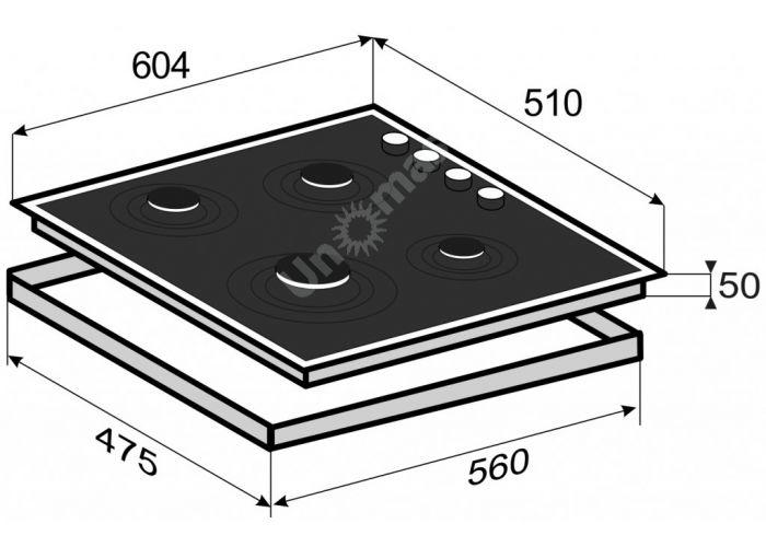 Zigmund & Shtain MN 84.61 S варочная поверхность