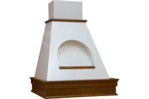 Vialona Cappe вытяжка Анастасия 600 с окном мощ.900 бук/апельсиновая корка