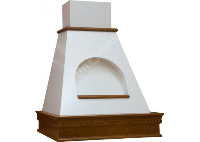 Vialona Cappe вытяжка Анастасия 600 с окном мощ.900 дуб/апельсиновая корка