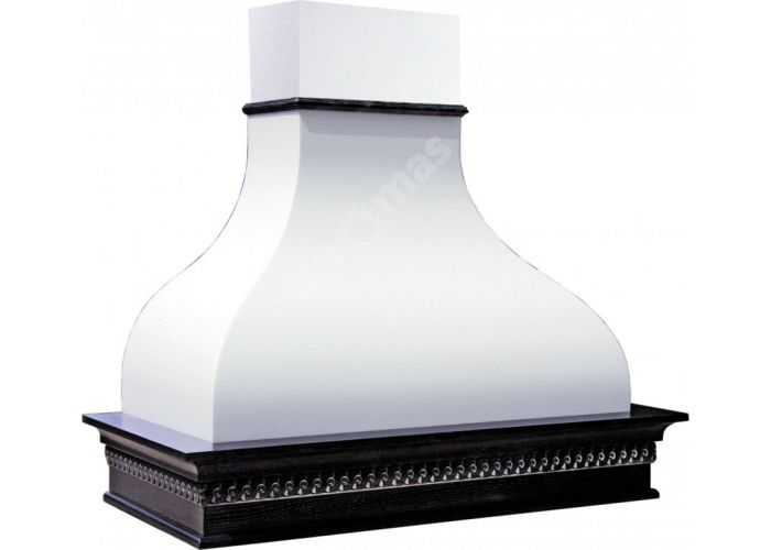 Vialona Cappe вытяжка Гальяно 900 ППУ мощ.900 м3 дуб/белый муар