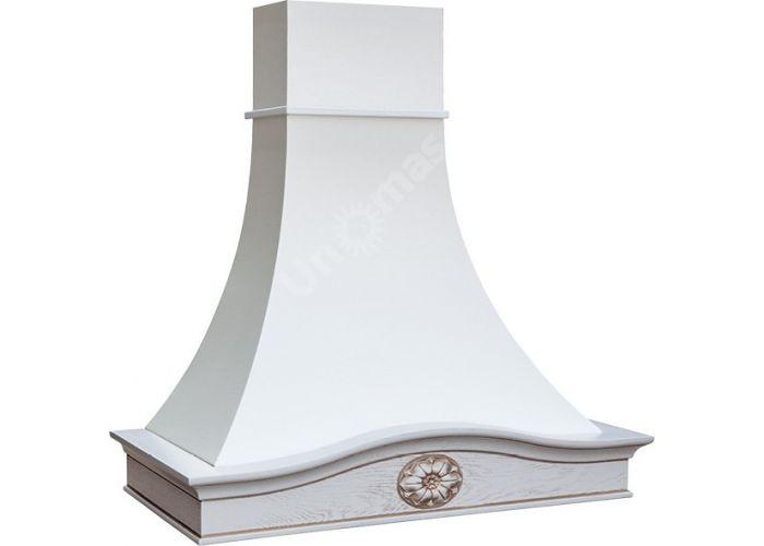 Vialona Cappe вытяжка Лаура 90 бук/белый муар мощ. 900 м3