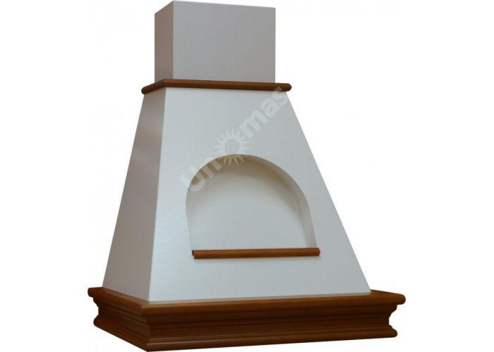 Vialona Cappe вытяжка Пента с окном 60 бук/серо-золотистый