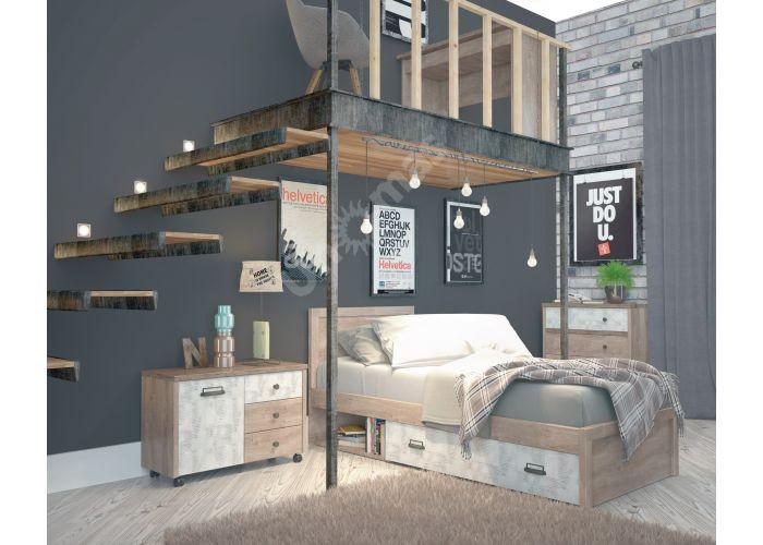 Diesel, Кровать 90-2, Детская мебель, Детские кровати, Стоимость 16999 рублей., фото 5
