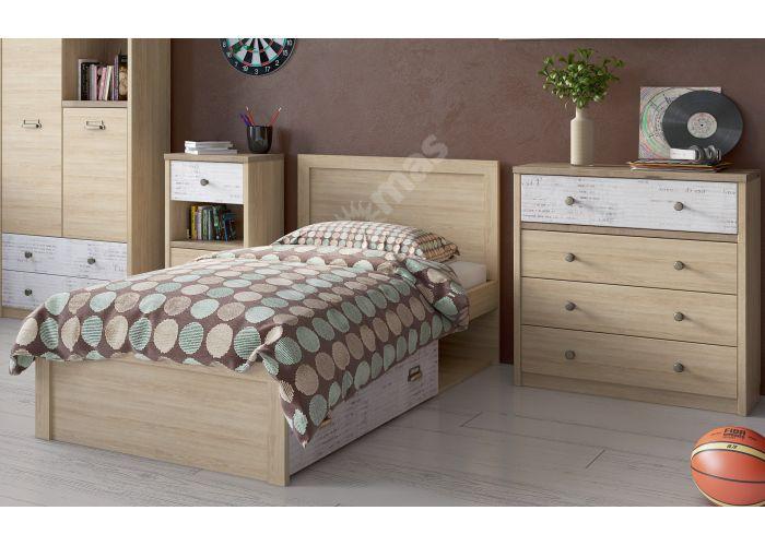 Diesel, Кровать 90-2, Детская мебель, Детские кровати, Стоимость 16999 рублей., фото 4