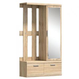 Duna, Шкаф с зеркалом и вешалкой L-P