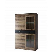 Jagger, Шкаф с витриной 2V2D1S