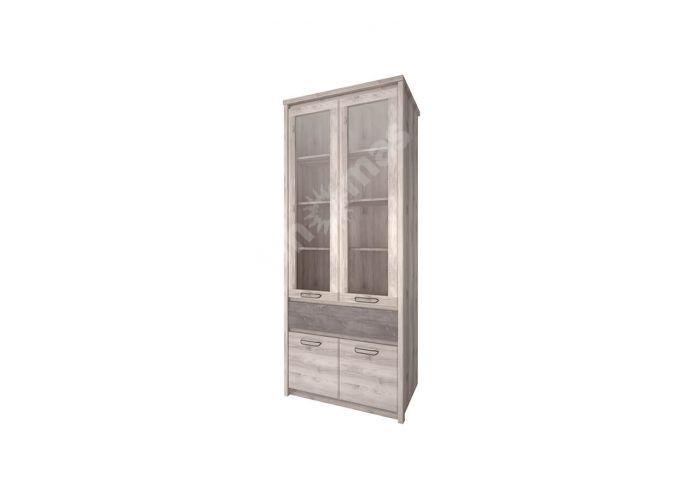 Jazz, Шкаф  с витриной 2V2D1S, Гостиные, Витрины и буфеты, Стоимость 15999 рублей.