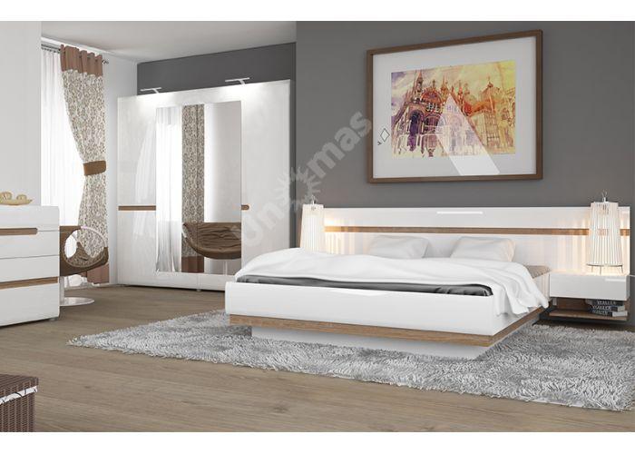 Linate, Кровать 160 / TYP 92, Спальни, Кровати, Стоимость 33299 рублей., фото 2