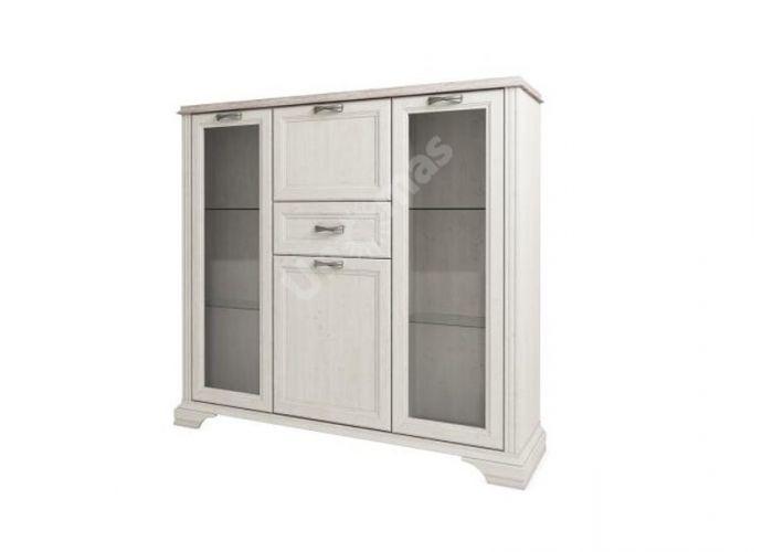 Monako, Шкаф с витриной 2V2D1S , Гостиные, Витрины и буфеты, Стоимость 26999 рублей.