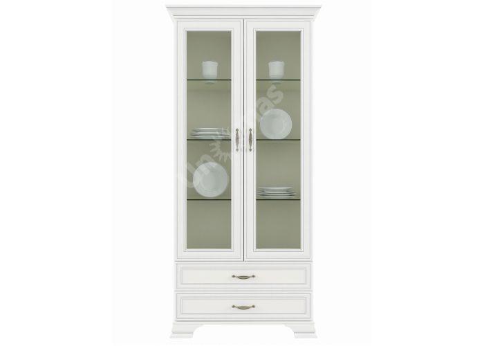 Tiffany, Шкаф с витриной 2V2S, Гостиные, Витрины и буфеты, Стоимость 24999 рублей.