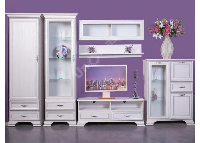 Tiffany, Шкаф с витриной 2V2S, Гостиные, Витрины и буфеты, Стоимость 24999 рублей., фото 5