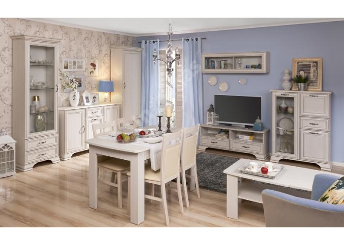 Tiffany, Шкаф с витриной 2V2S, Гостиные, Витрины и буфеты, Стоимость 24999 рублей., фото 6