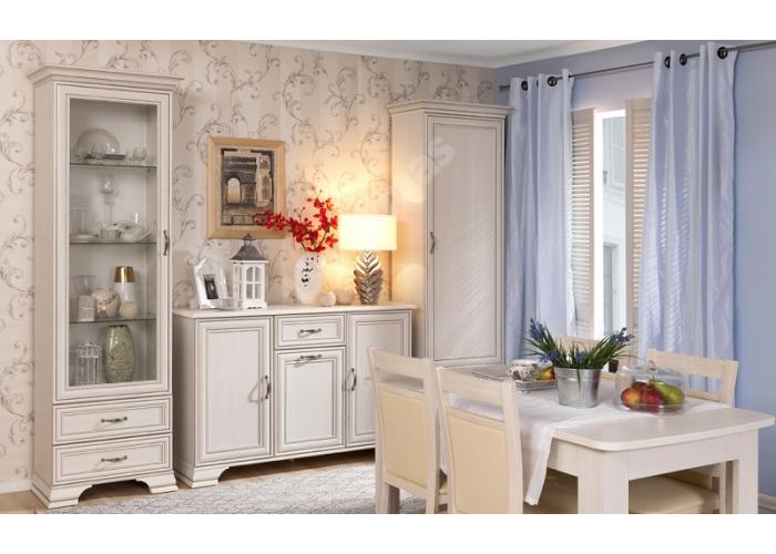 Tiffany, Шкаф с витриной 2V2S, Гостиные, Витрины и буфеты, Стоимость 24999 рублей., фото 3