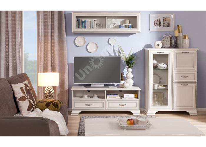 Tiffany, Шкаф с витриной 2V2S, Гостиные, Витрины и буфеты, Стоимость 24999 рублей., фото 2