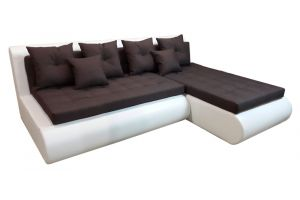 Кормак Угл. диван Ткань: осн. Пони браун комп. К/з Рени айс
