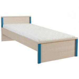 Капс Голубой, 015 Кровать LOZ/90