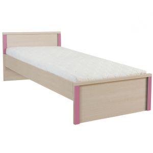 Капс Розовый, 015 Кровать LOZ/90