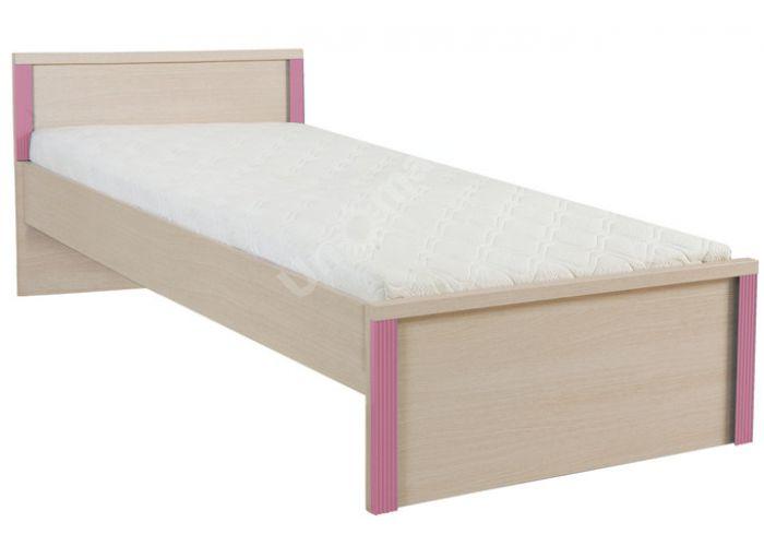Капс Розовый, 015 Кровать LOZ/90, Спальни, Кровати, Стоимость 7229 рублей.